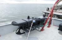 Arctic wave glider:  pre deployment, PrudhoeBay, AK, 31JUL2011
