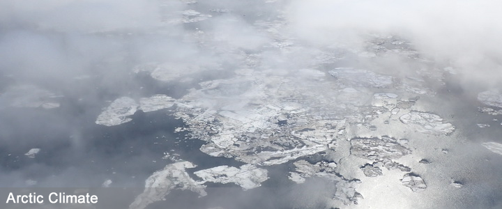 Melting sea ice in the Chukchi sea in June 2016 seen from the NOAA Twin Otter aircraft