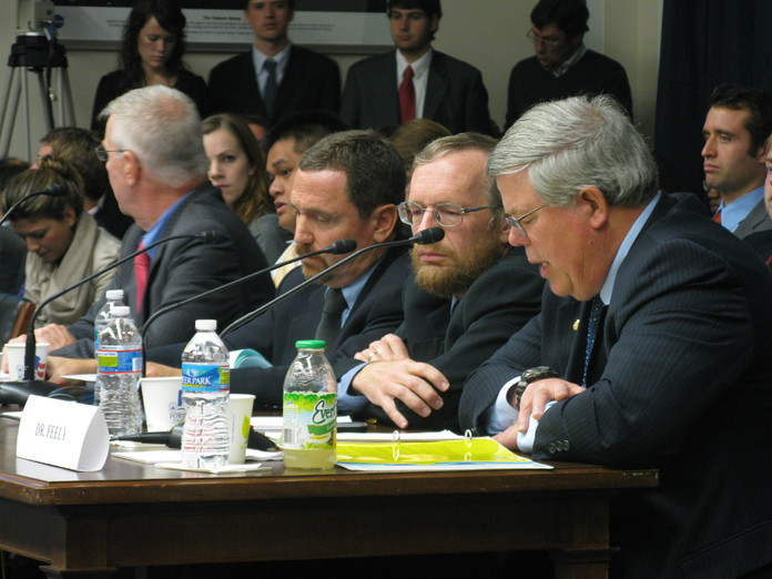 Dr. Feely testifies before Congress