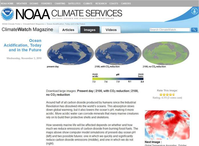 NOAA ClimateWatch Article