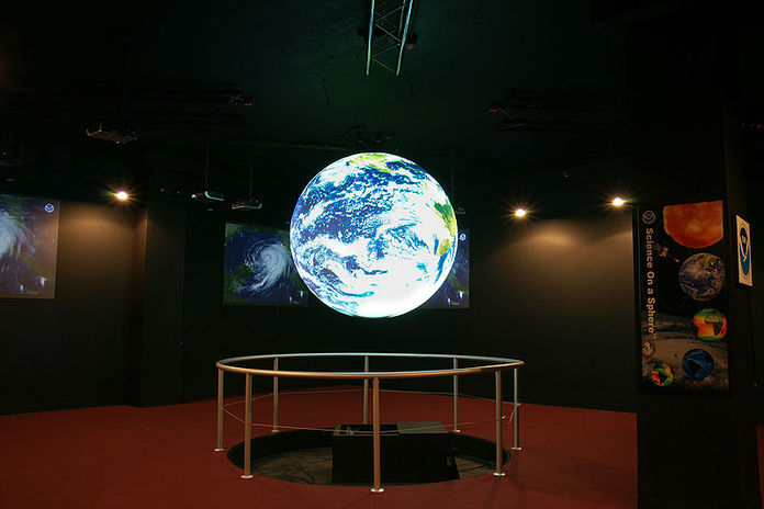 Science On a Sphere® at Planet Theater