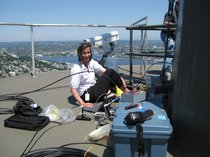 Stacy Maenner on Space Needle