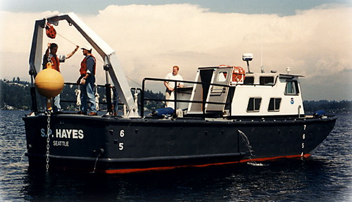 Work Boat S.P. Hayes