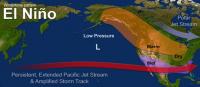 U.S. El Nino Jet Wintertime Pattern image from NOAA
