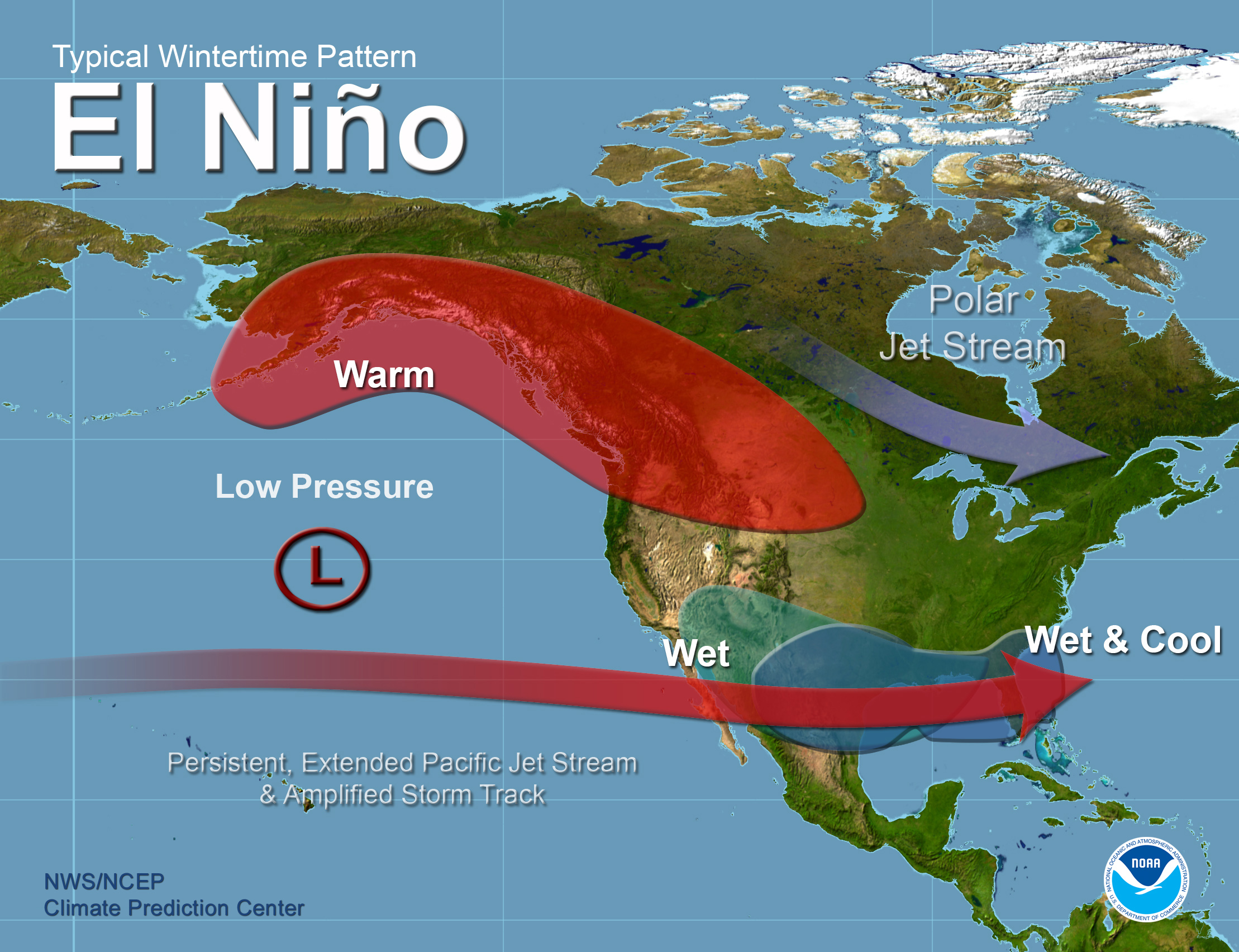 la ni ntilde a faqs el nino theme page a comprehensive resource elnino jet wintertime pattern