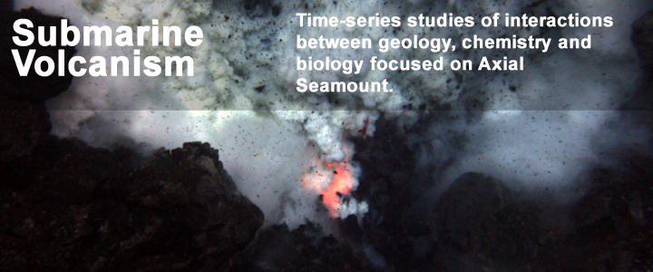 Submarine Volcanism - Time-Series Studies