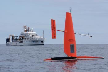 NOAAS Oscar Dyson and Saildrone