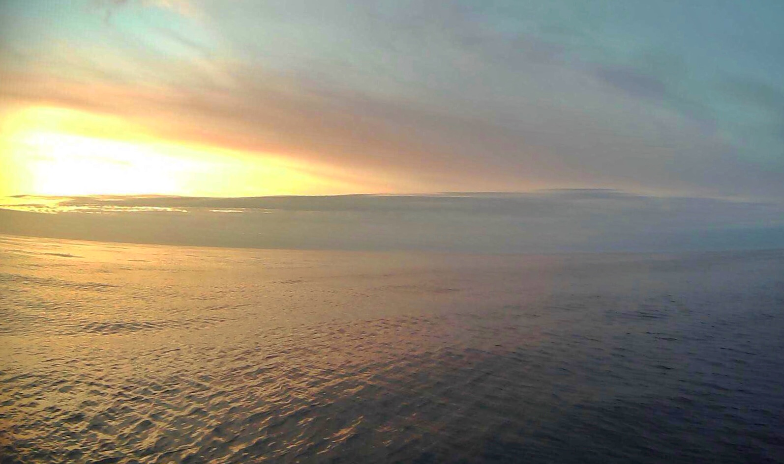 View from the saildrone as it carries out surveys in the US Arctic.  Photo: Saildrone Inc. & NOAA