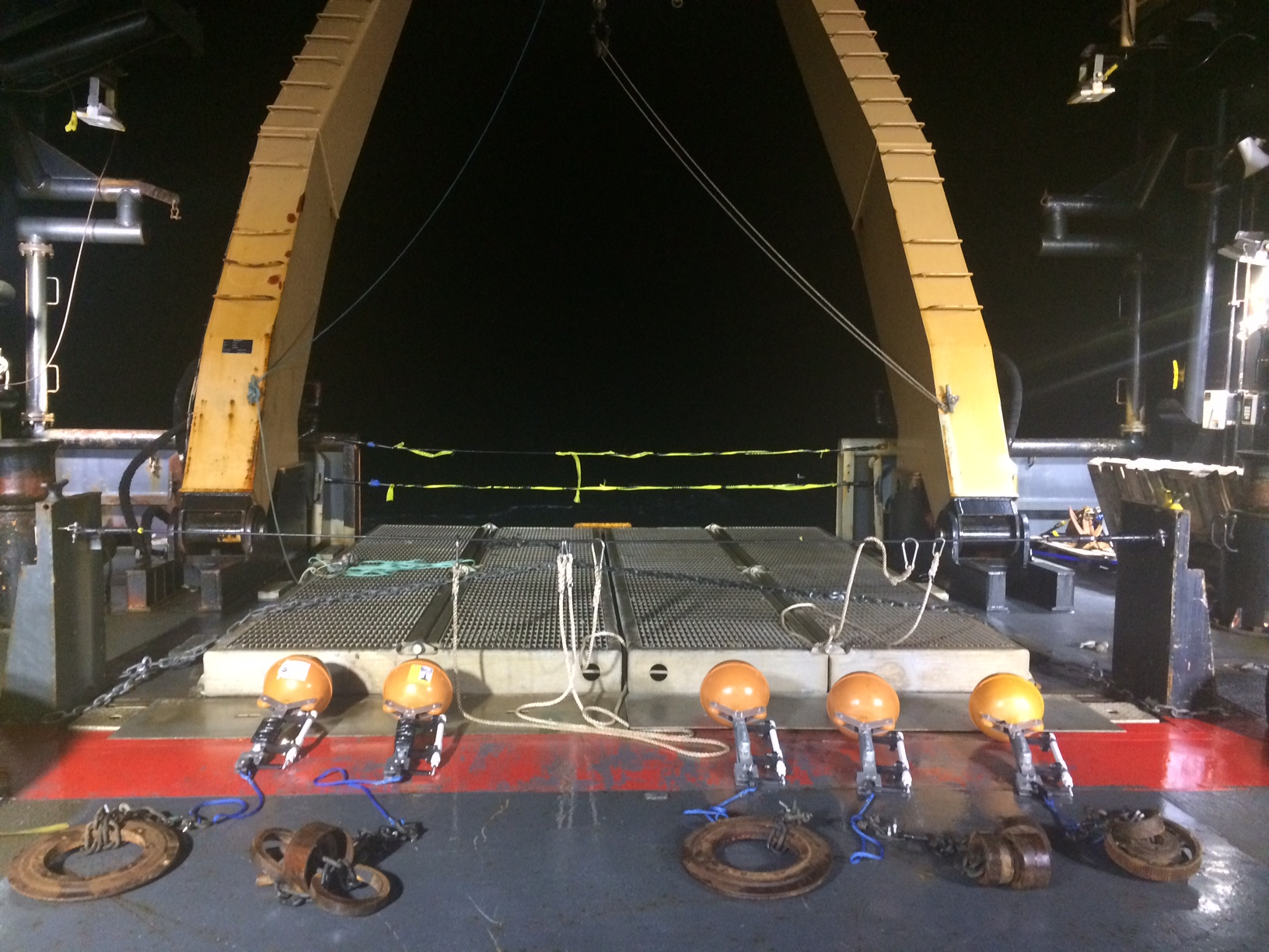 2017 Fall Launch of the Pop-ups from the NOAAS Oscar Dyson