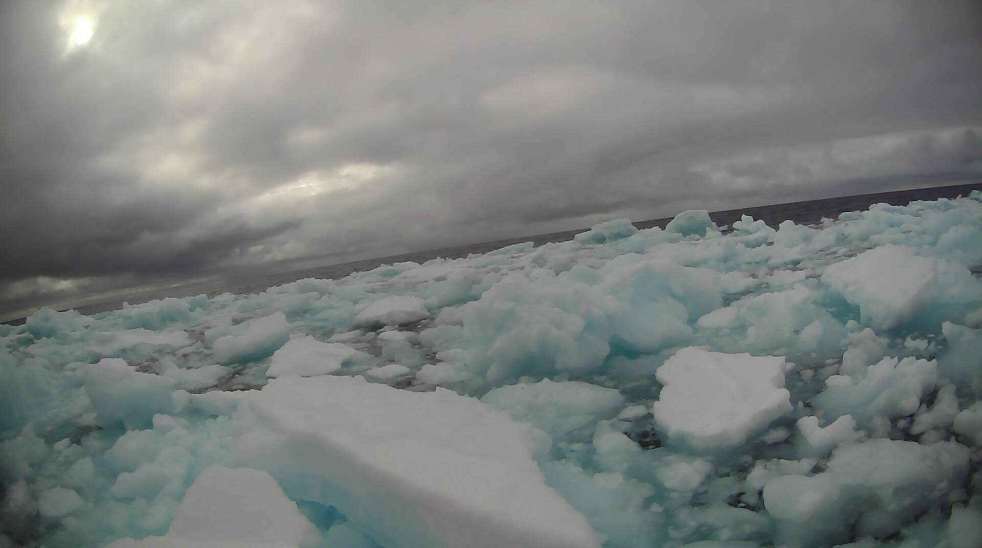 A saildrone view of Arctic ice during the 2019 NOAA Arctic missions