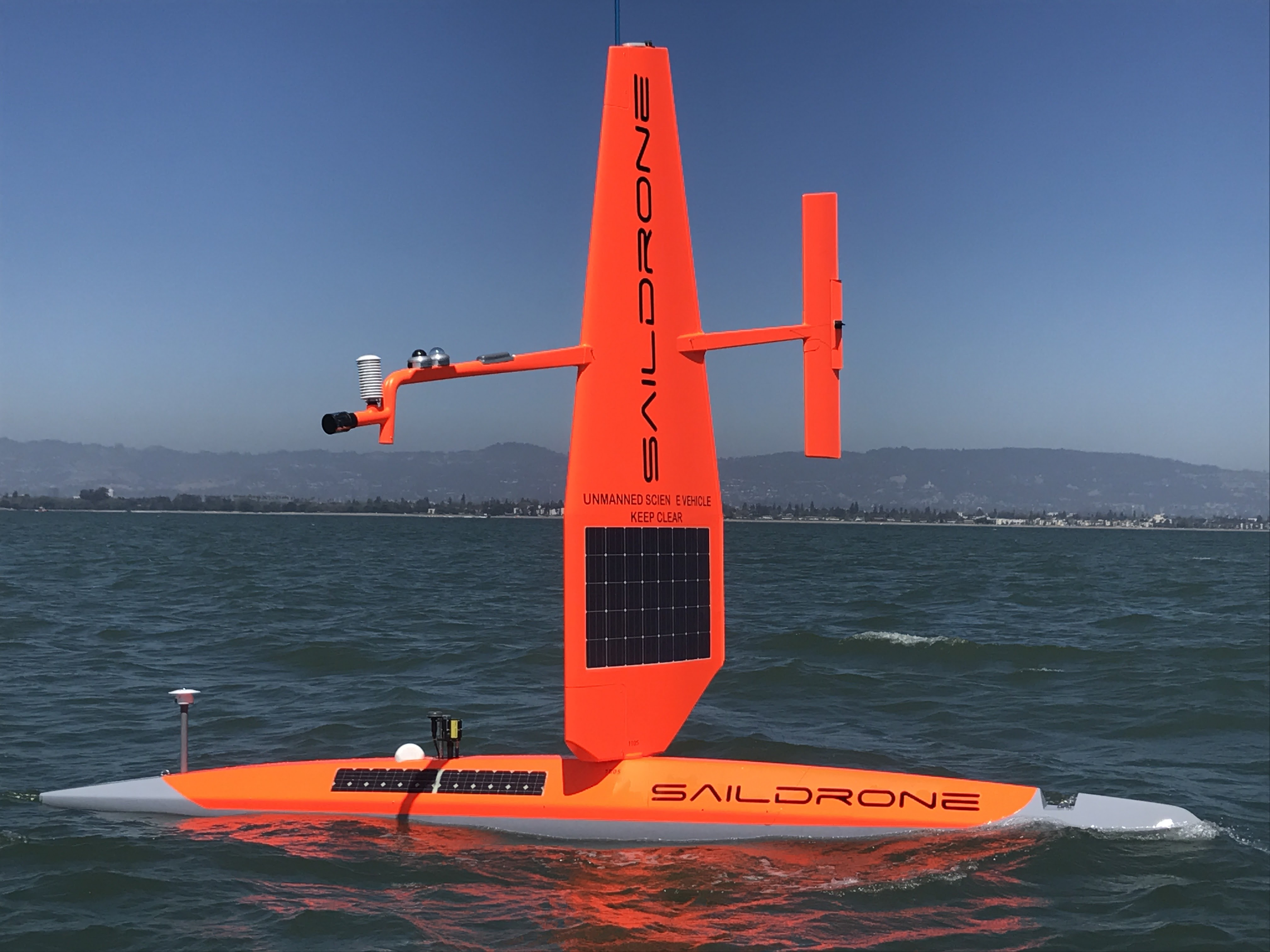 Saildrone Ocean Climate Stations