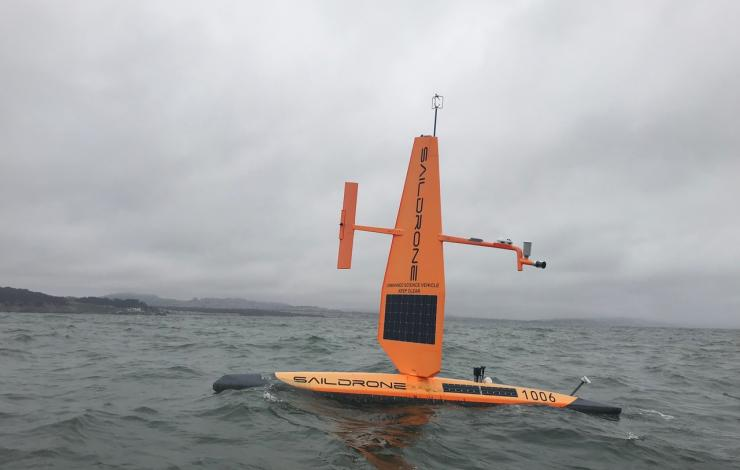 Saildrone recovery