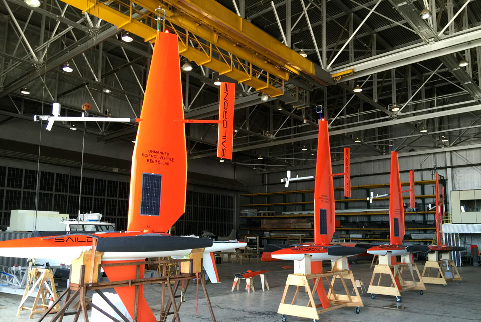 Saildrone Assembly