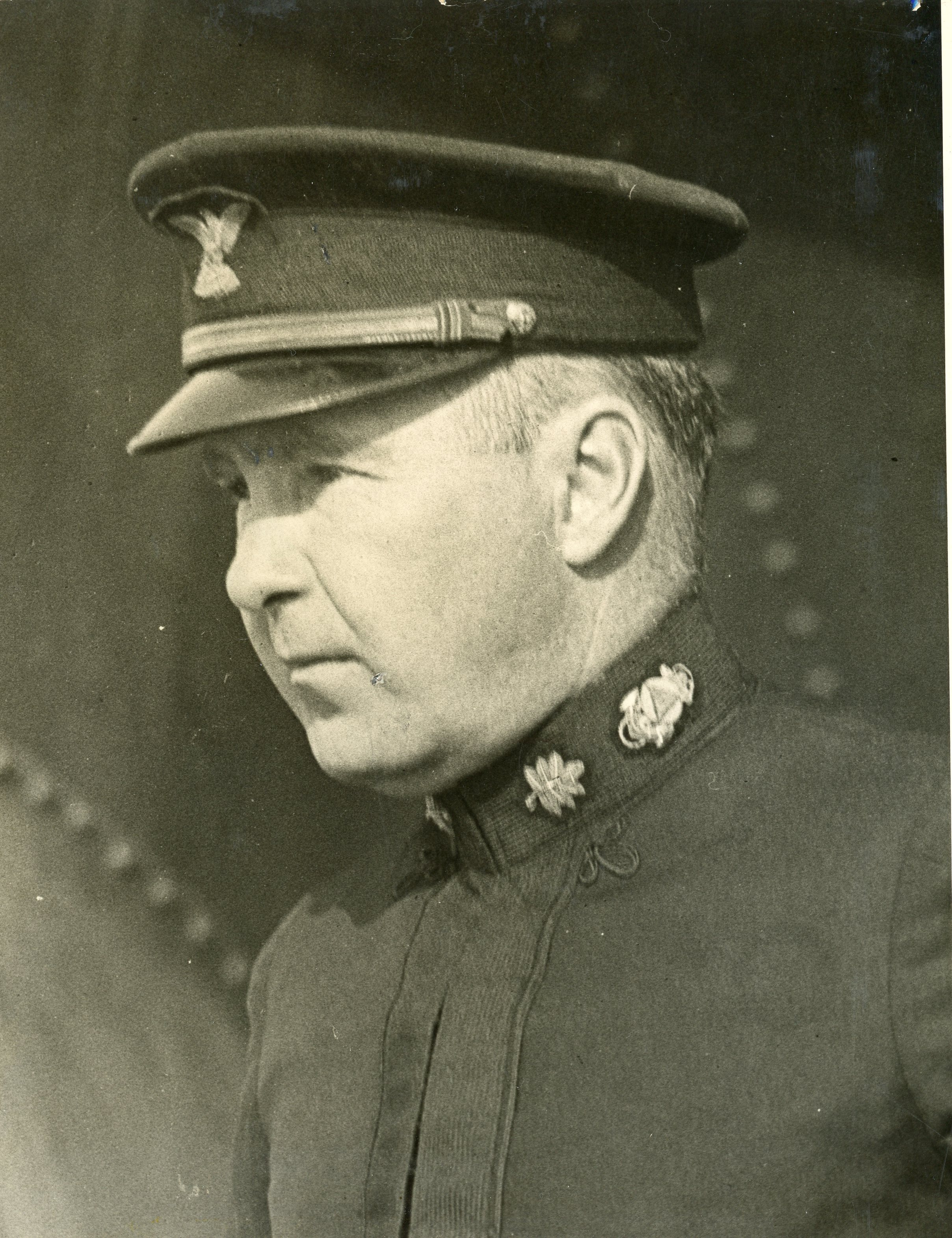 Lt. Cdr. R.L. Luce, commanding officer of the CGS steamer 'Pioneer'.
