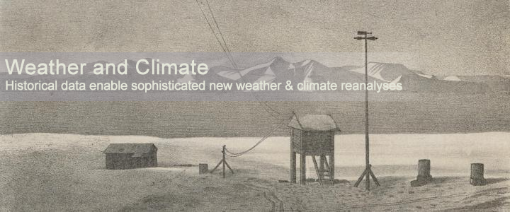 A weather station in Svalbard, 1881