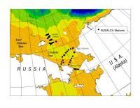 High density CTD stations on RUSALCA 2004 Leg 2