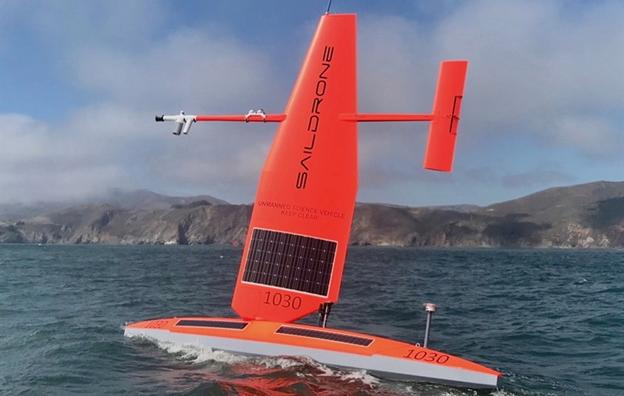 Photo of Saildrone, an autonomous sailing drone