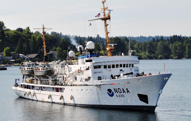photo of NOAA Ship Fairweather