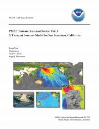 image of the cover of a tsunami forecast series report