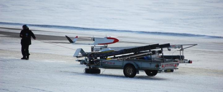 Unmanned Aircraft System (UAS) for atmospheric sampling