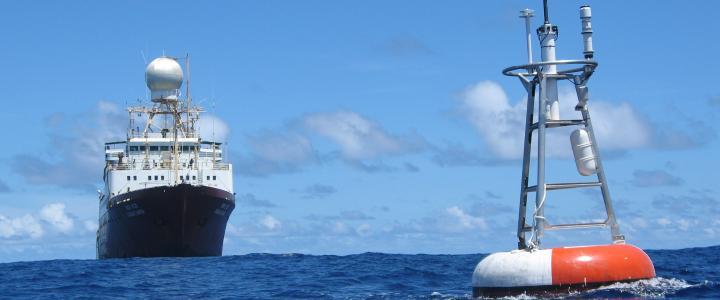 Sagar Kanya and Atlas buoy