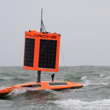 Saildrone 1020 completes the 22,000 kilometer mission to circumnavigate Antarctica in 196 days.