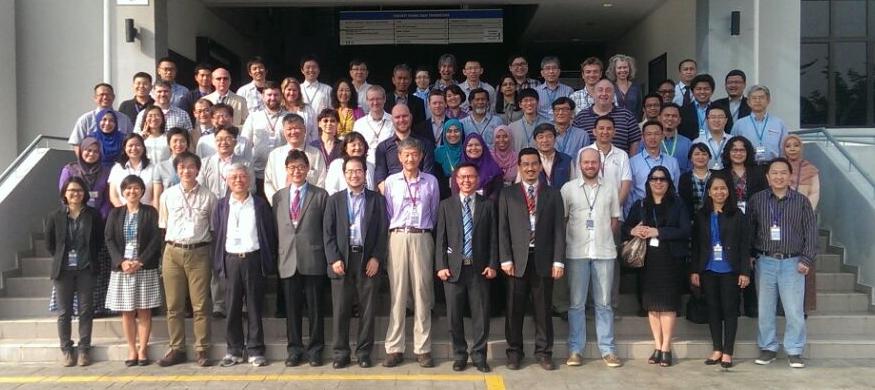 Group photo, Third International YMC Workshop, Bangi, Selangor, Malaysia, 14-16 March 2017